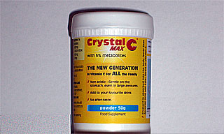 50g pack of Crystal C™ MAX.